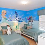 Icebreaker 6 Bedroom Orlando Area Vacation Home Childrens Frozen Themed Bedroom