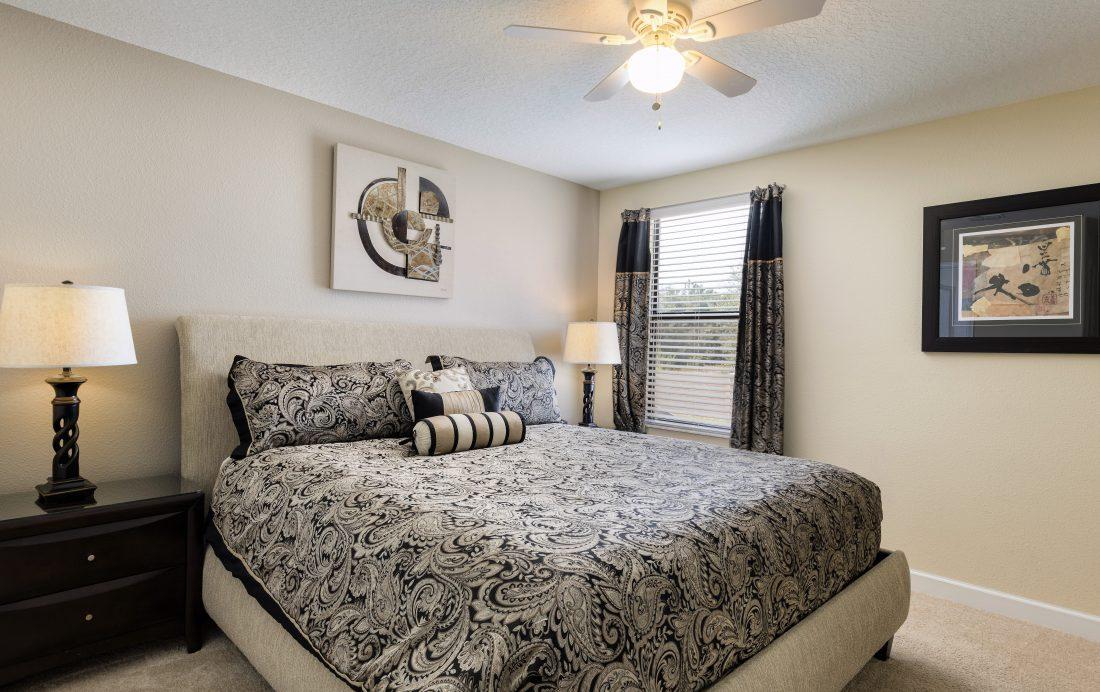 Bedroom 7 - Downhaul 8 Bedroom Vacation Home Near Disney - Championsgate Home - Homes4uu