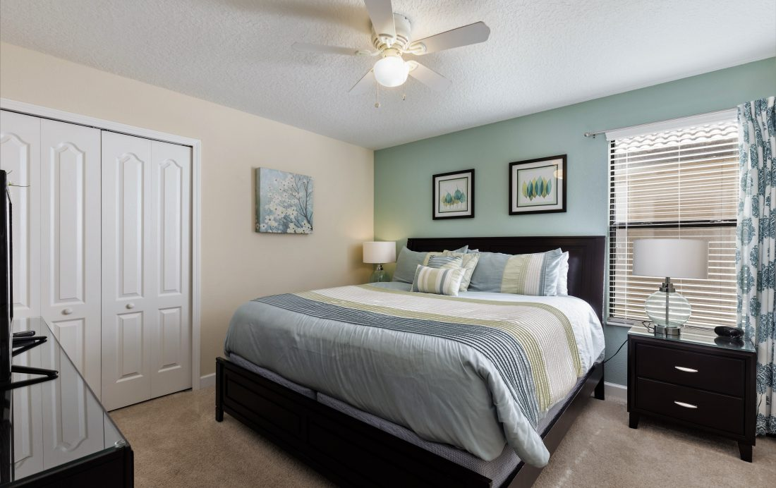Bedroom 2 - Downhaul 8 Bedroom Vacation Home Near Disney - Championsgate Home - Homes4uu