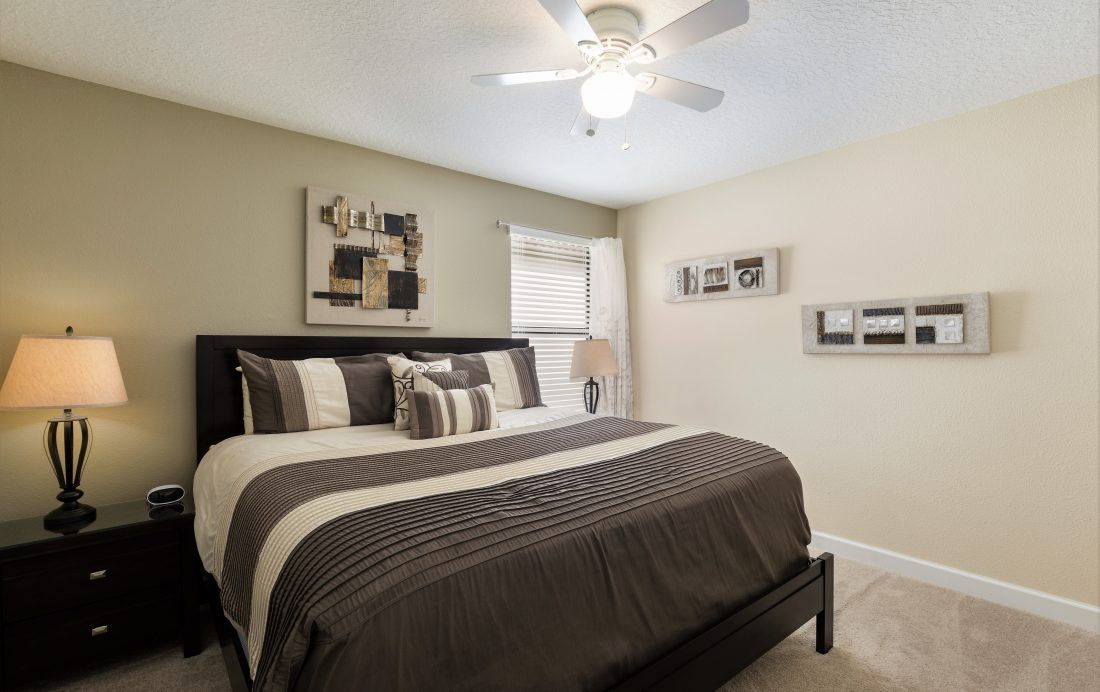 Bedroom 3 - Downhaul 8 Bedroom Vacation Home Near Disney - Championsgate Home - Homes4uu