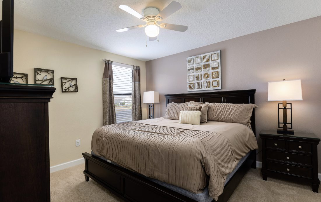 Bedroom 8 - Downhaul 8 Bedroom Vacation Home Near Disney - Championsgate Home - Homes4uu