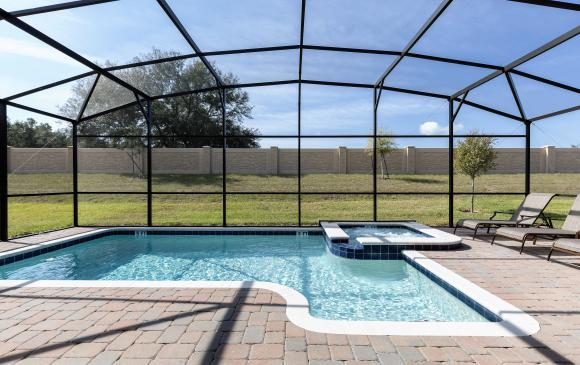 Private Pool and In Ground Spa - Downhaul 8 Bedroom Vacation Home Near Disney - Championsgate Home - Homes4uu