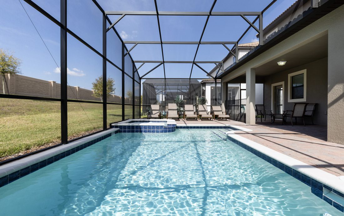 Private in Ground Pool - Downhaul 8 Bedroom Vacation Home Near Disney - Championsgate Home - Homes4uu