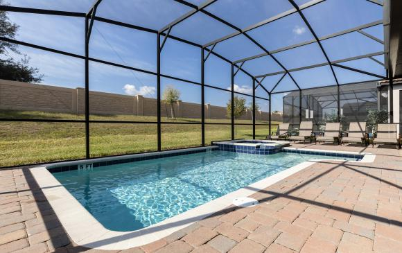 Private Pool - Downhaul 8 Bedroom Vacation Home Near Disney - Championsgate Home - Homes4uu