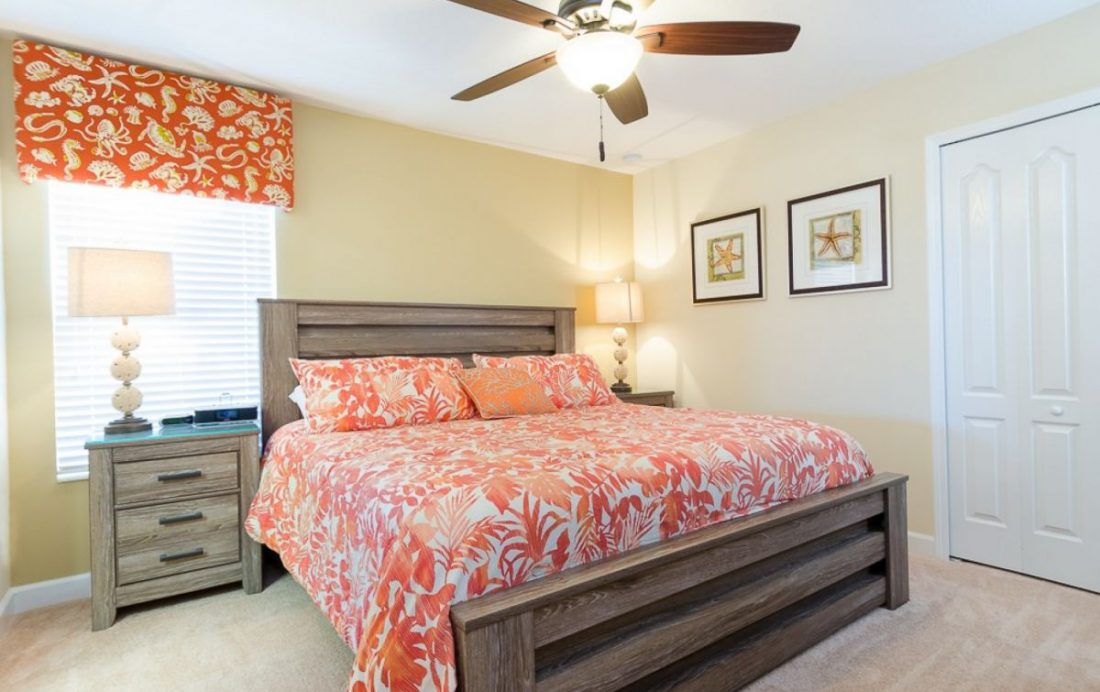 Bedroom 4 - Mainbrace - 8 Bedroom Orlando Vacation Home - Homes4uu