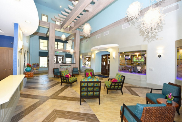 Champions Gate Resort Clubhouse Lobby
