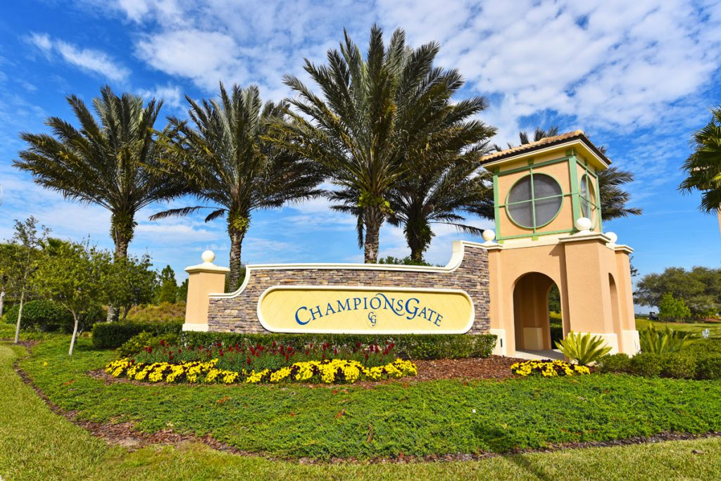 Champions Gate Resort Entrance