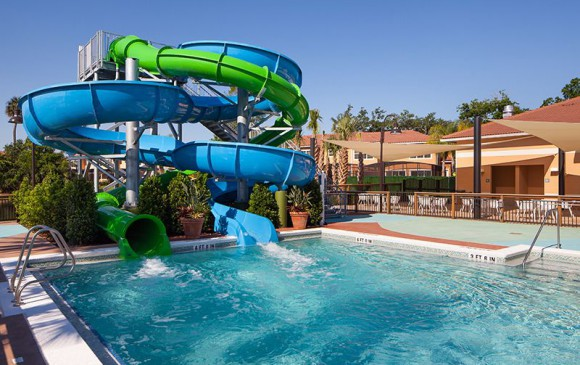 Regal Oaks Resort Community Pool Waterslides