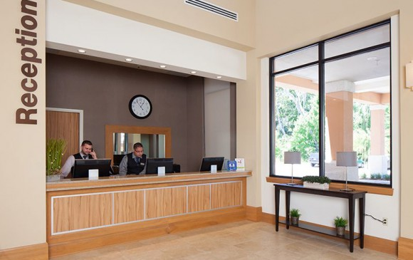 Regal Oaks Resort Lobby Reception Desk