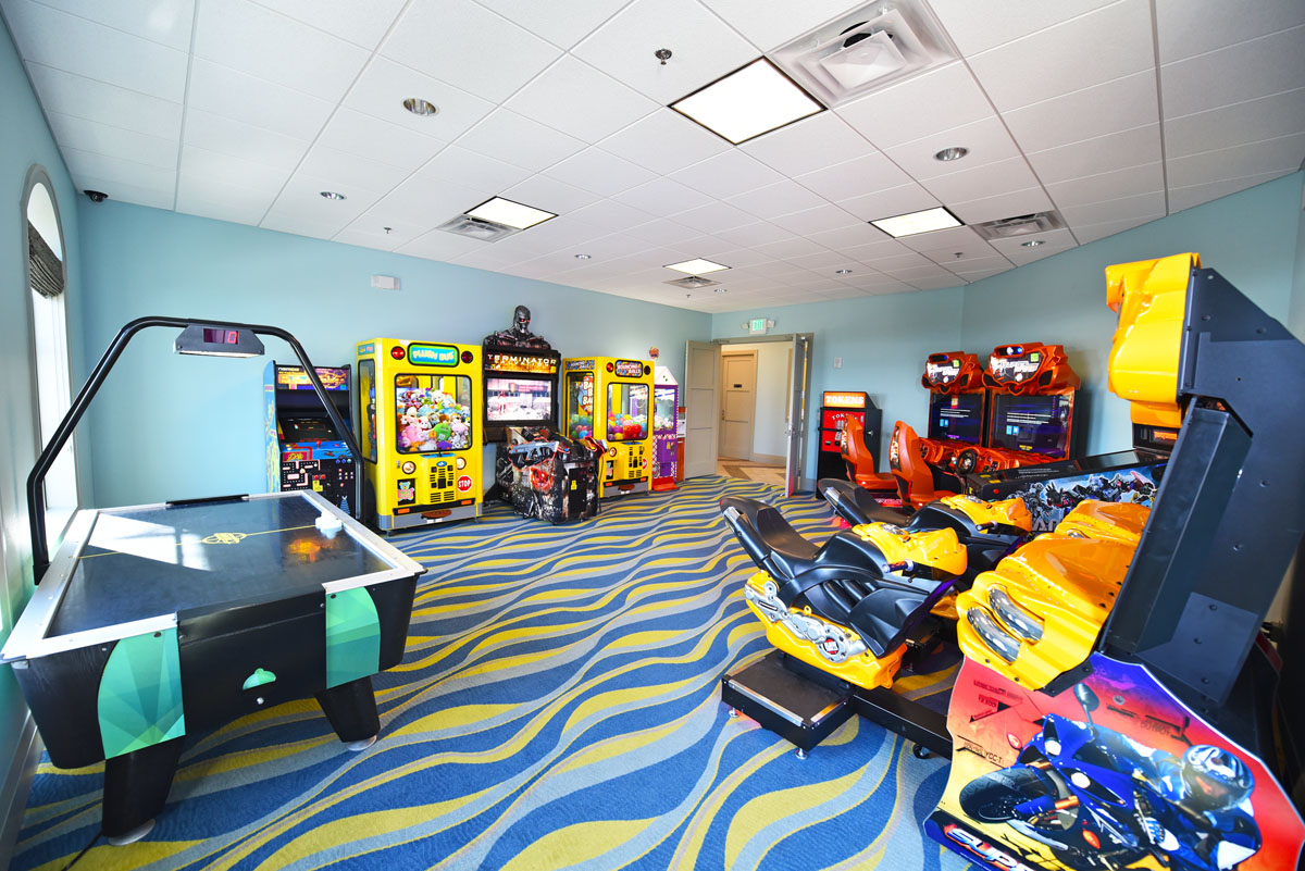 Champions Gate Resort Arcade and Game Room