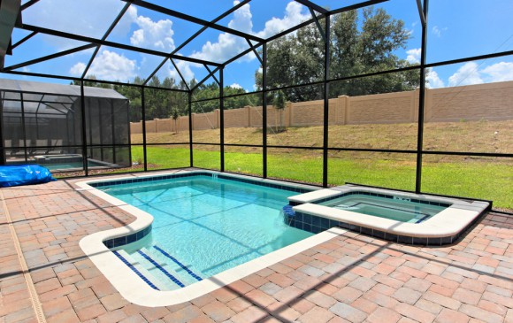 Downhaul 8 Bedroom Vacation Home Near Disney Sunny Pool