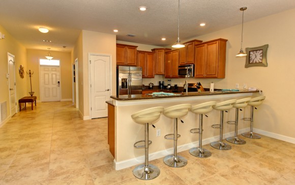Downhaul 8 Bedroom Vacation Home Near Disney Breakfast Bar
