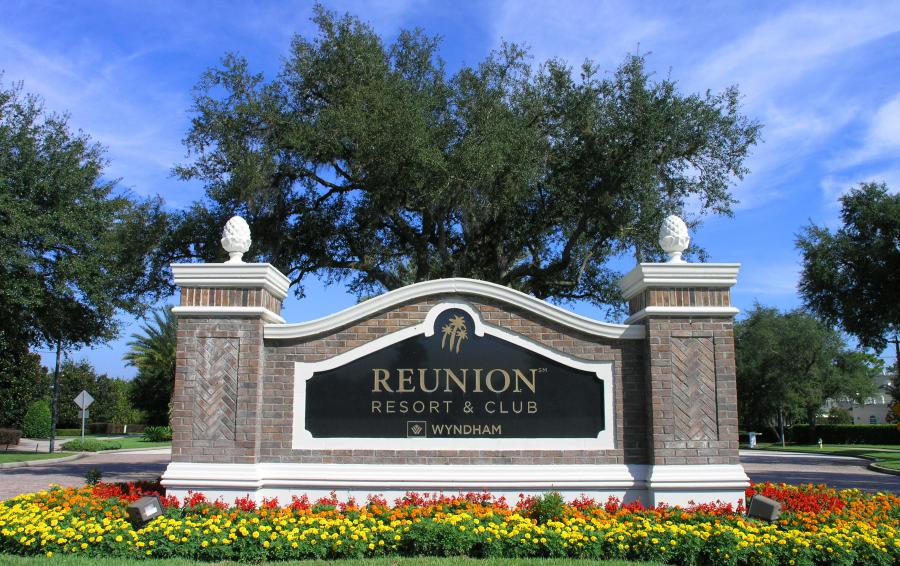 Reunion Resort Signage