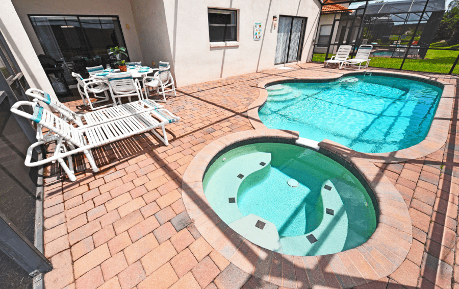 Private Pool and In Ground Spa - Tallboy - 5 Bedroom High Grove Resort area home - Homes4uu
