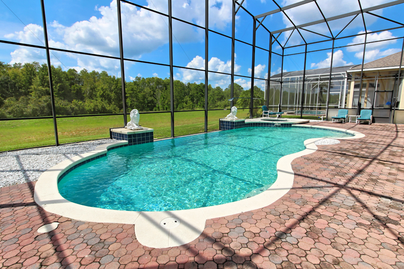 Furious Fifties - 6 bedroom Highland Reserve vacation home - Homes4uu - Screened In Pool