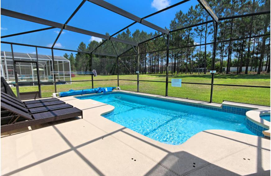 Private Pool and Deck - Cam Cleat - 6 bedroom Highland Reserve Vacation home - Homes4uu