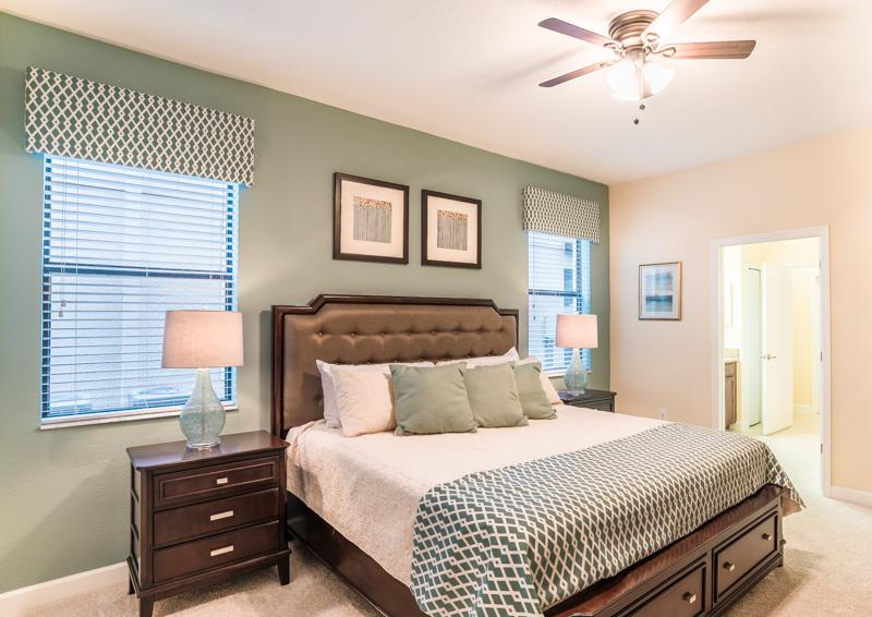 Bedroom 2 - Clove Hitch - 9 bedroom Walt Disney World Area Home - Homes4uu