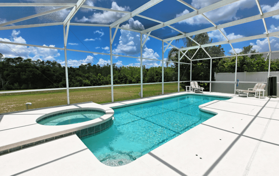 Screened In Private Pool - Gunter Rig - 4 bedroom Disney World Area home - Highlands Reserve Golf Community - Homes4uu