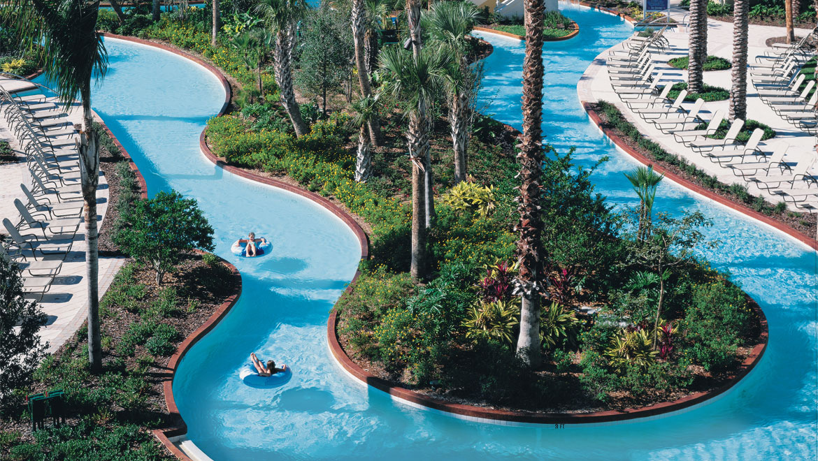 Champions Gate Resort Lazy River