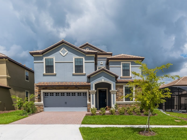 Pearl - 9 Bedroom Champions Gate Home - Homes4uu - Home Exterior
