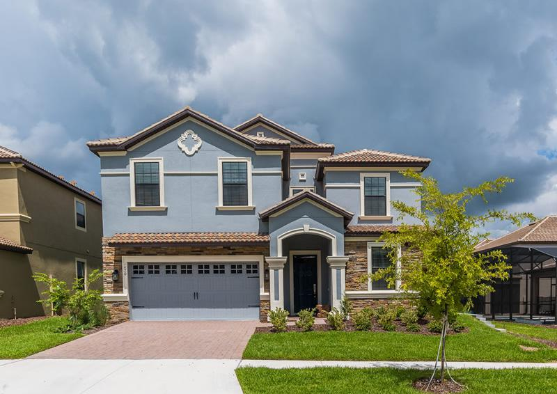 Home Exterior - Pearl - 9 Bedroom Champions Gate Home - Homes4uu