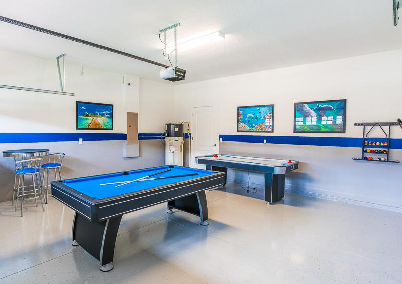 Game Room - Pearl - 9 Bedroom Champions Gate Home - Homes4uu