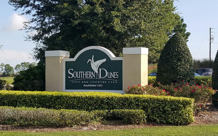 Southern Dunes Golf Course Entrance