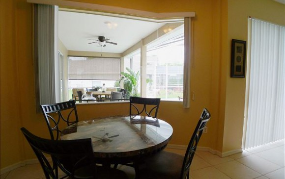Breakfast Nook and Kitchen Opening - Chine - Beautiful 5 bedroom Disney Area Home - Homes4uu