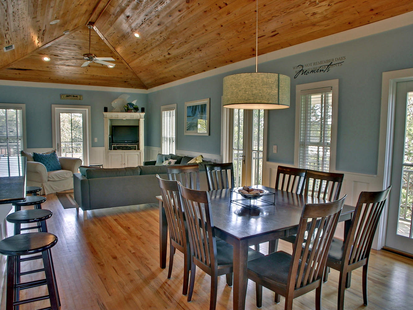 Patina by the Sea - Florida Panhandle Beach Home - Dining Room