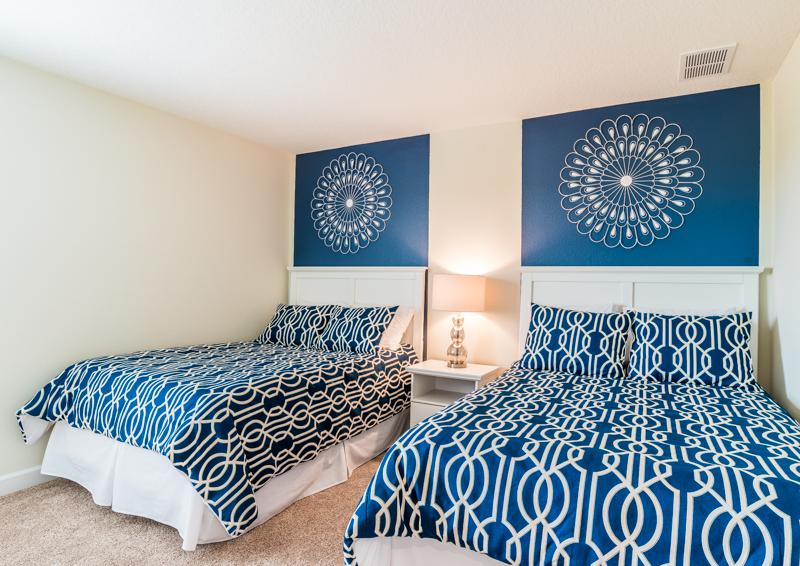Bedroom 9 - Grapeshot Beautiful 9 bedroom Champions Gate Vacation Home - Homes4uu