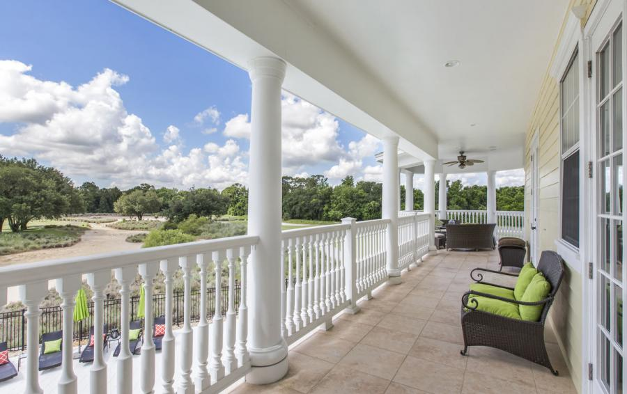 Balcony Views - Reunion Retreat Admiral 7 Bedroom Luxury Reunion Disney Area Vacation Home - Homes4uu