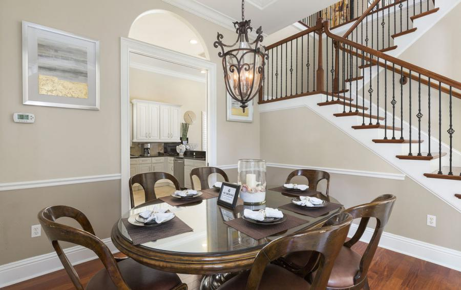 Second Dining Ara - Reunion Retreat Admiral 7 Bedroom Luxury Reunion Disney Area Vacation Home - Homes4uu