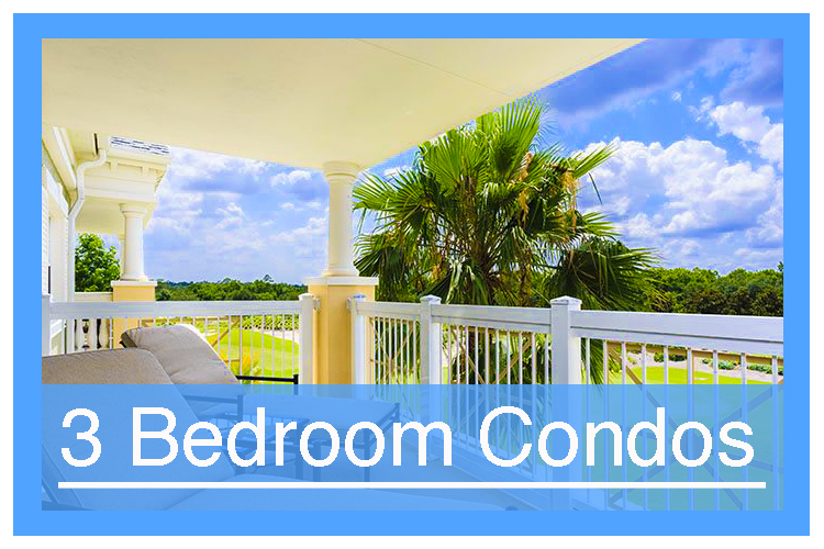 3 Bedroom Vacation Condos