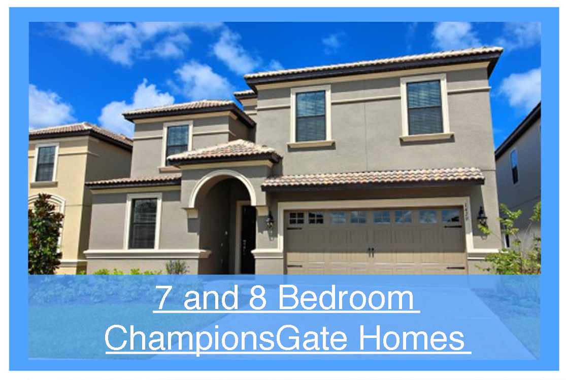 Championsgate vacation homes 9 bedrooms homes4uu for 8 bedroom vacation homes