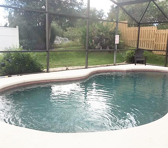 Private Pool View - Inboard - 4 Bedroom Disney Vacation Villa - Homes4uu