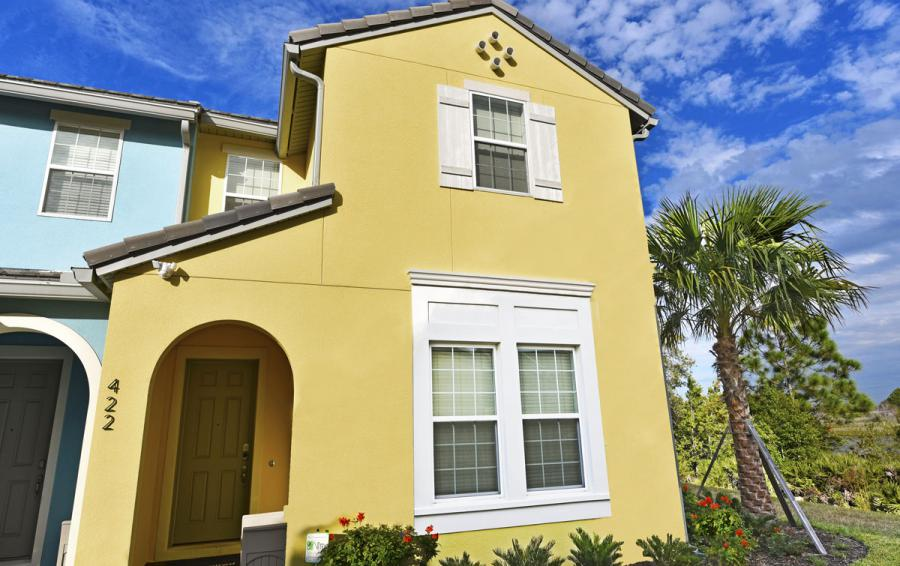 Townhome Exterior - Amiships - 5 Bedroom Orlando Townhome - Homes4uu