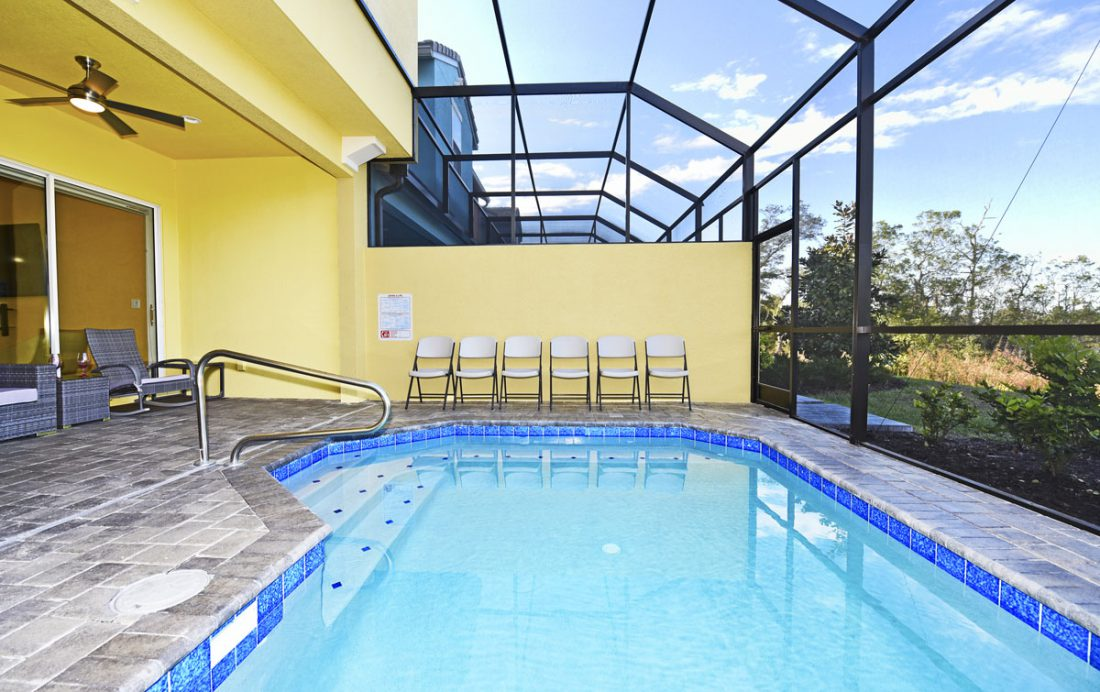 Private Pool - Amiships - 5 Bedroom Orlando Townhome - Homes4uu