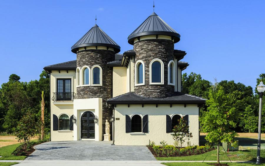 Fairy Tale Towers - Flannel - 9 Bedroom Reunion Resort Vacation Mansion - Homes4uu