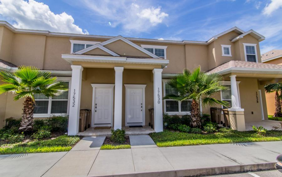 Front Door of the Condo - Ocean Whisper - 3 Bedroom Townhouse with a Pool - Homes4uu
