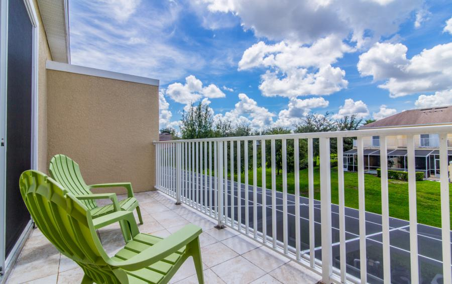 Balcony Views - Ocean Whisper - 3 Bedroom Townhouse with a Pool - Homes4uu