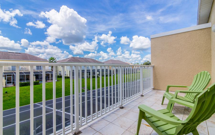 Balcony - Ocean Whisper - 3 Bedroom Townhouse with a Pool - Homes4uu