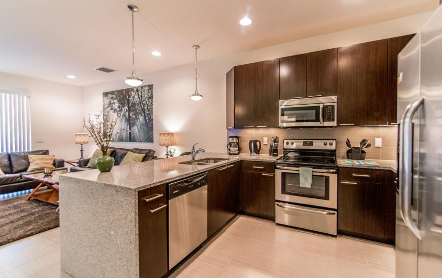 Kitchen - Ocean Whisper - 3 Bedroom Townhouse with a Pool - Homes4uu