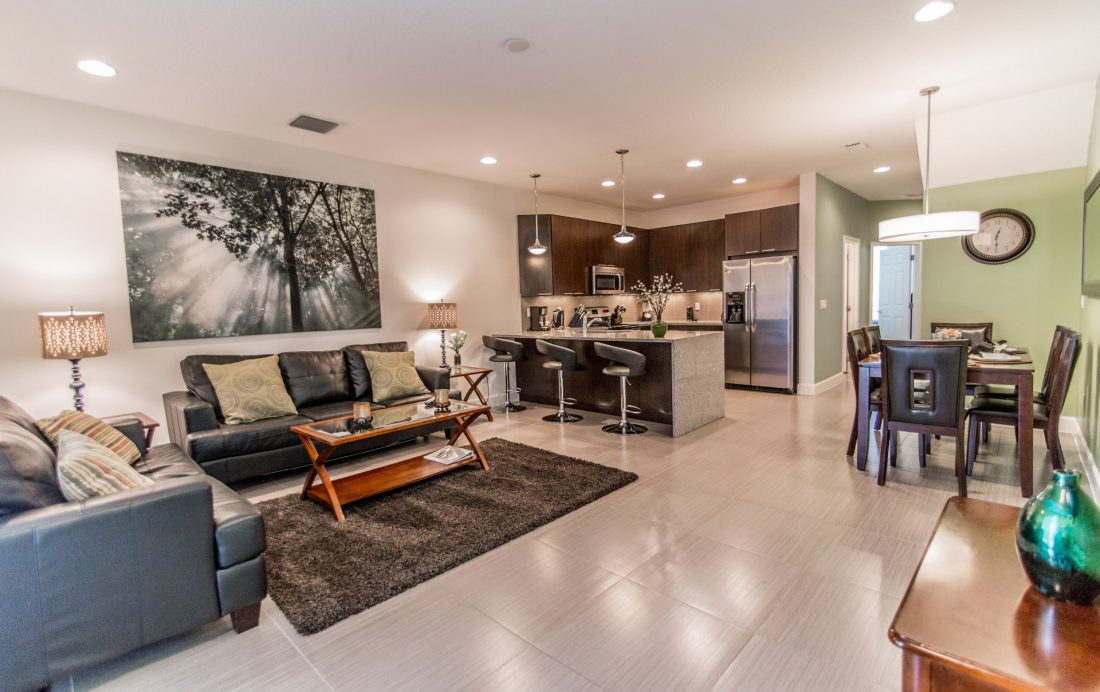 Kitchen and Great Room - Ocean Whisper - 3 Bedroom Townhouse with a Pool - Homes4uu