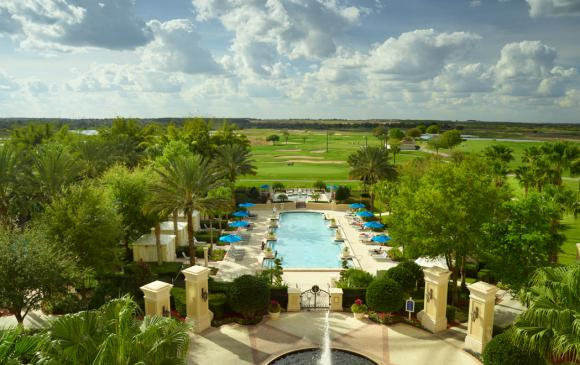 ChampionsGate Resort Pool Sky View
