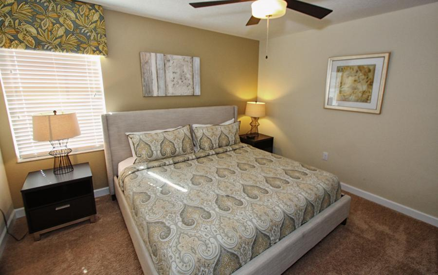 Bedroom 4 - Celeste 9 Bedroom Orlando Vacation Home - Championsgate Resort - Homes4uu