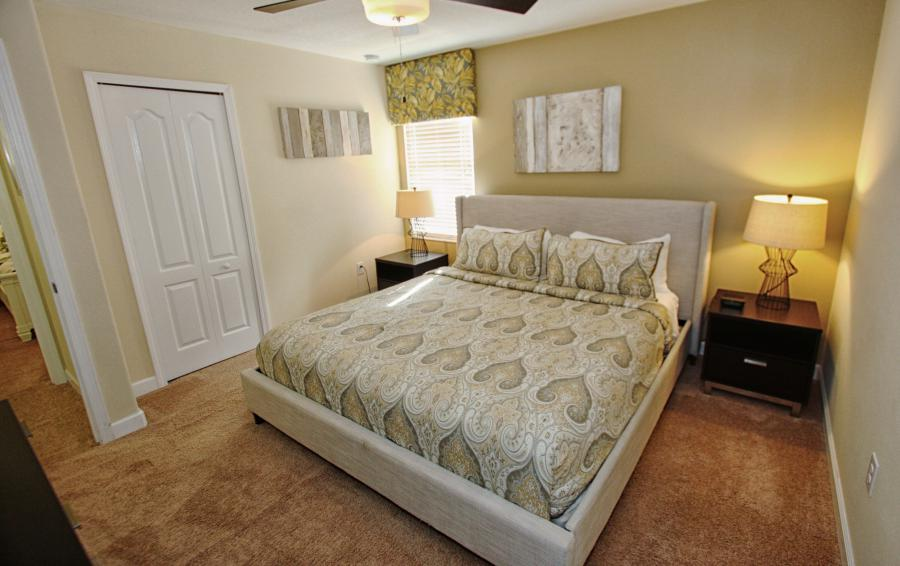 Bedroom 4 View 3 - Celeste 9 Bedroom Orlando Vacation Home - Championsgate Resort - Homes4uu