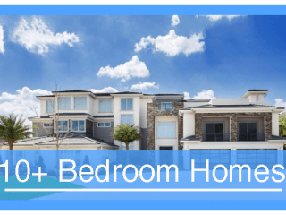 10 Bedroom Vacation Homes