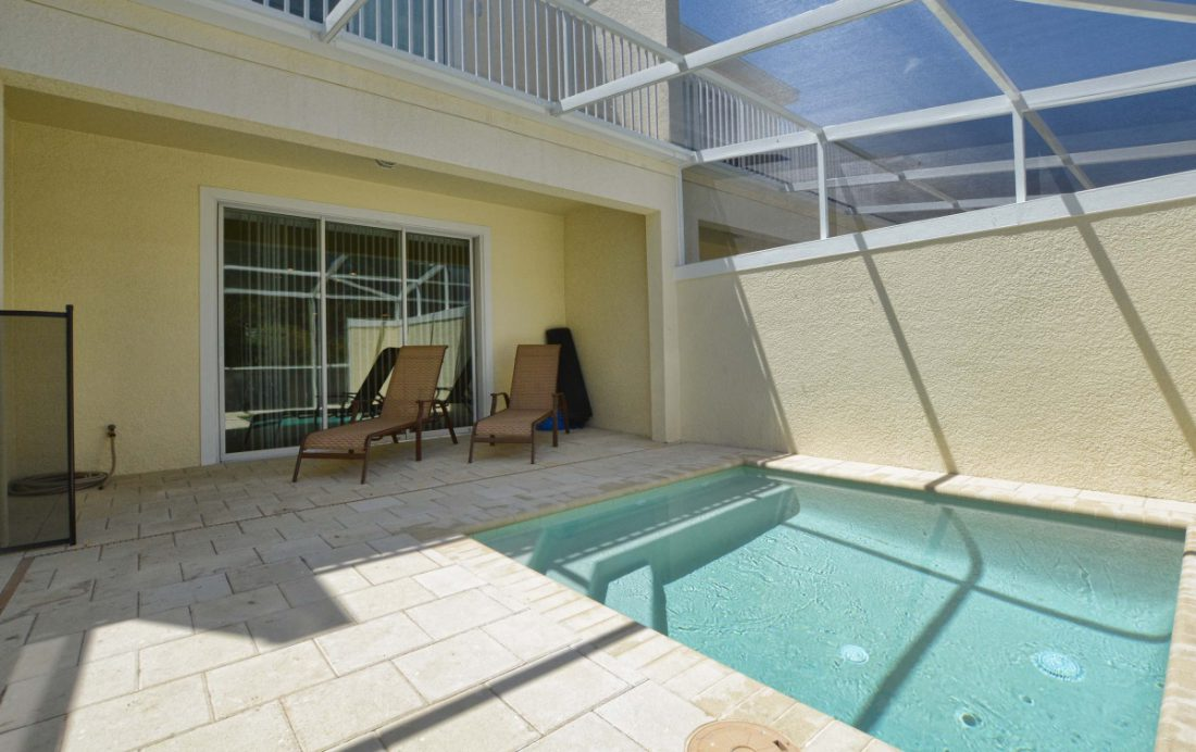Private Pool 3 - Upper Mainstay 3 Bedroom Beautiful Orlando Townhouse - Dream Resort - Homes4uu