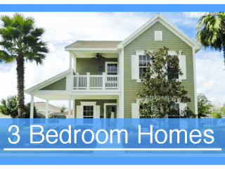 3 Bedroom Vacation Homes