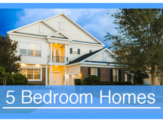 5 Bedroom Vacation Homes
